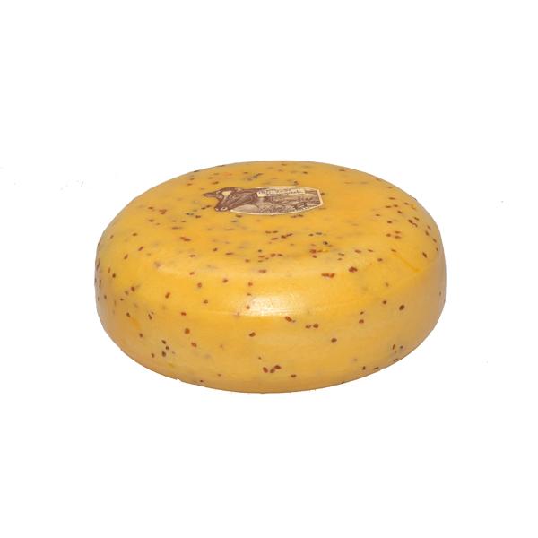 Fenugreek Gouda Cheese 5 kilogram wheel